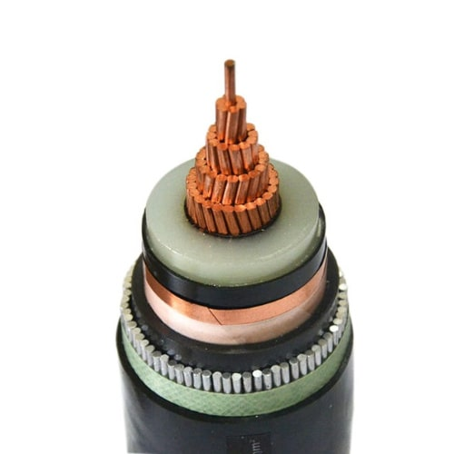 5kv -35kv Medium Voltage XLPE Insulation PVC Cable