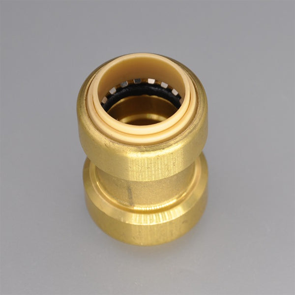 Brass Push Fit Reducer Female Adapter