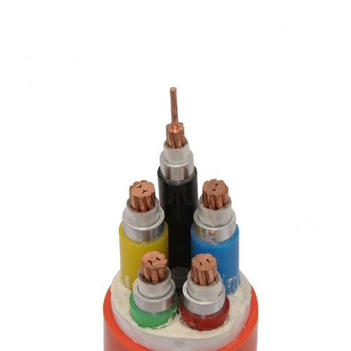 Fire Resistant Magnesium Oxide Mineral Insulated Copper Cable