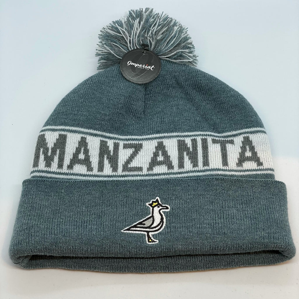 Manzanita King Seve Beanie - Pacific Gray