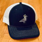 King Seve Navy/White Mesh Trucker Snapback Cap