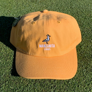 Manzanita Links Dad Hat - Crown Gold