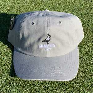 Manzanita Links Dad Hat - Hazy Grey