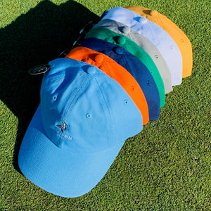 Manzanita Links Dad Hat - Corvallis Orange