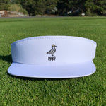 King Seve 1987 Classic High Crown Tour Visor - Pure White