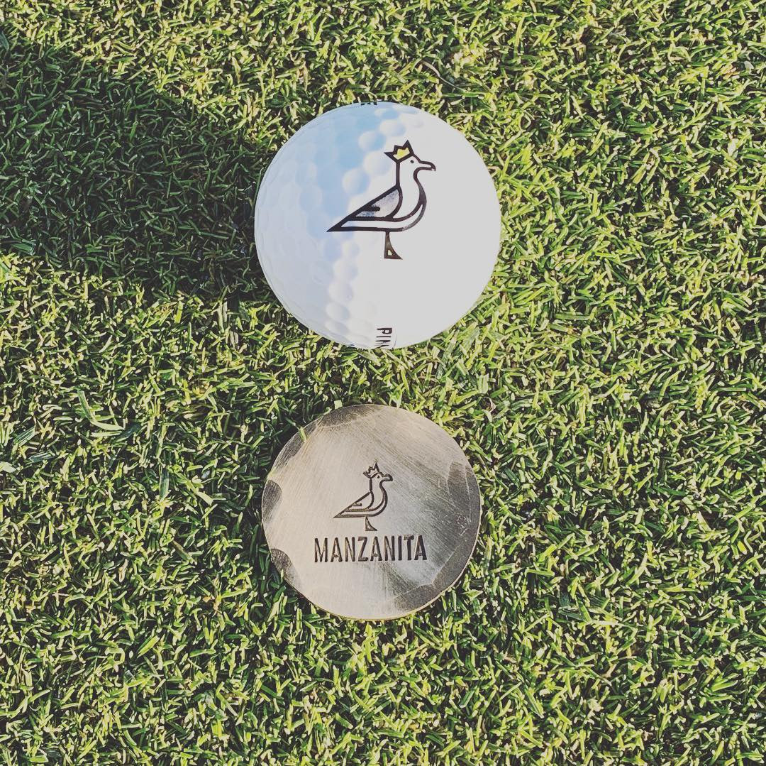 King Seve X Seamus | Hand Forged Ball Marker