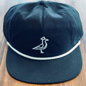 King Seve Championship Black Rope Cap