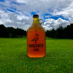 King Seve Manzanita Glass Growler