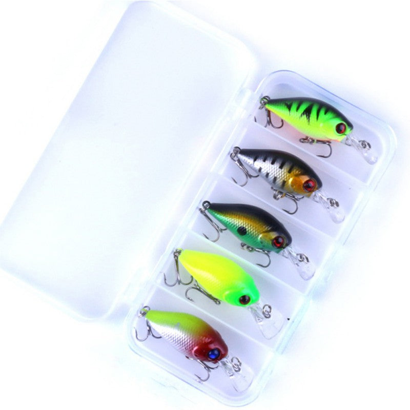4g Crankmaster FatBoy Bass Classic Lure 5 Piece Assorted Bundle Pack