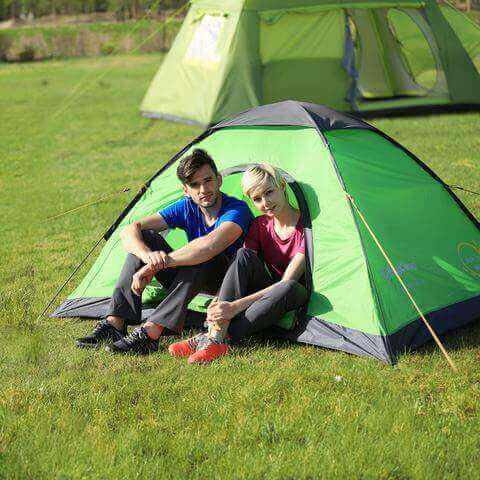 2-3 Persons KingCamp Pop-Up Outdoor Dome Tent