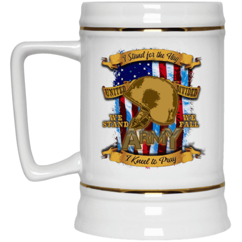 Army Beer Stein 22oz.