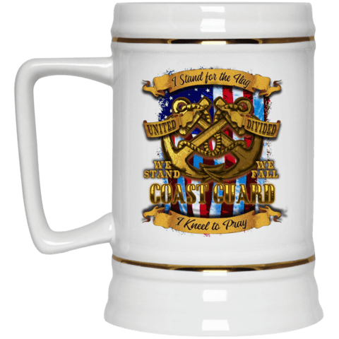 Coast Guard Beer Stein 22oz.