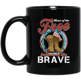Free Because Of The Brave Drink Wear