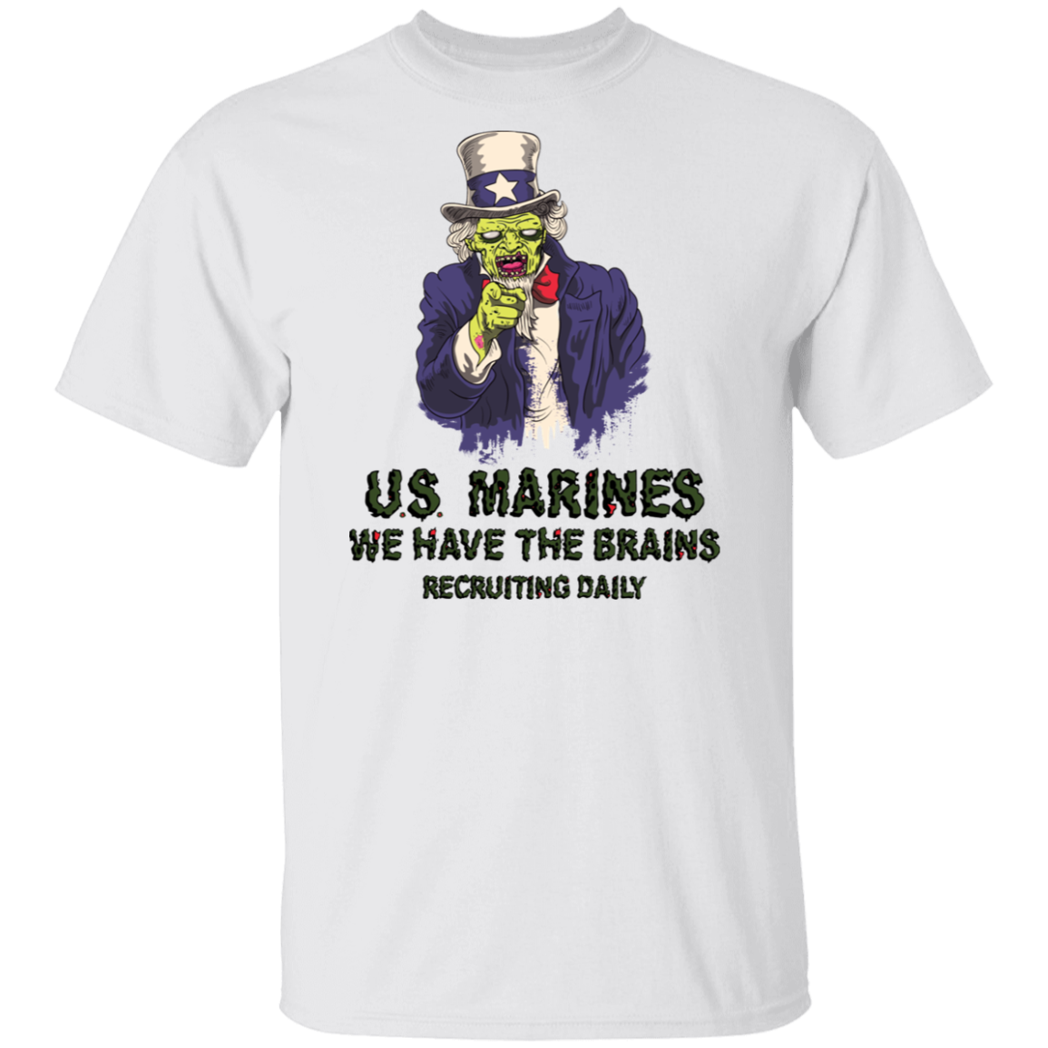 Uncle Zombie Has The Brains Marines - Halloween 2019 Exclusive!