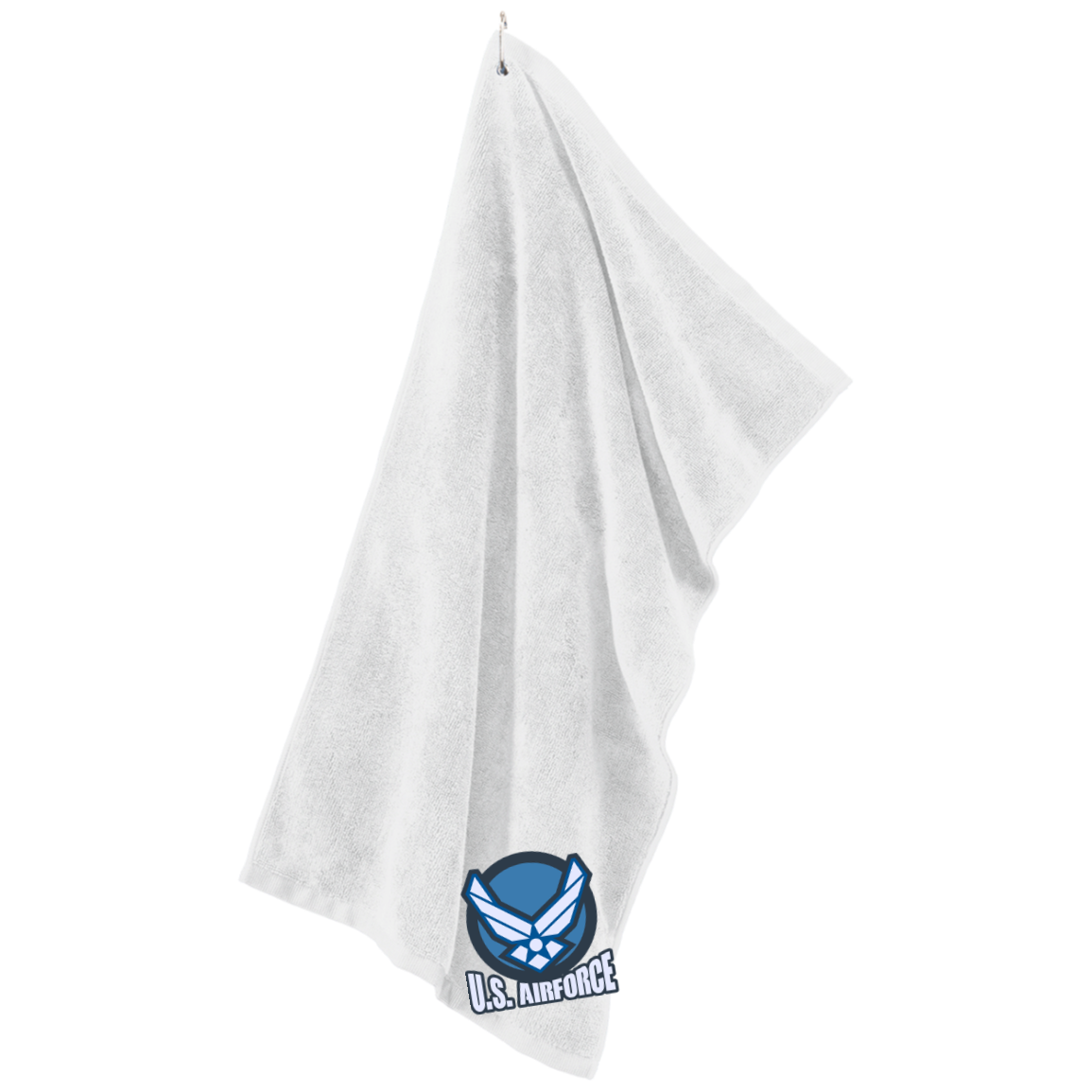Air Force Microfiber Golf Towel
