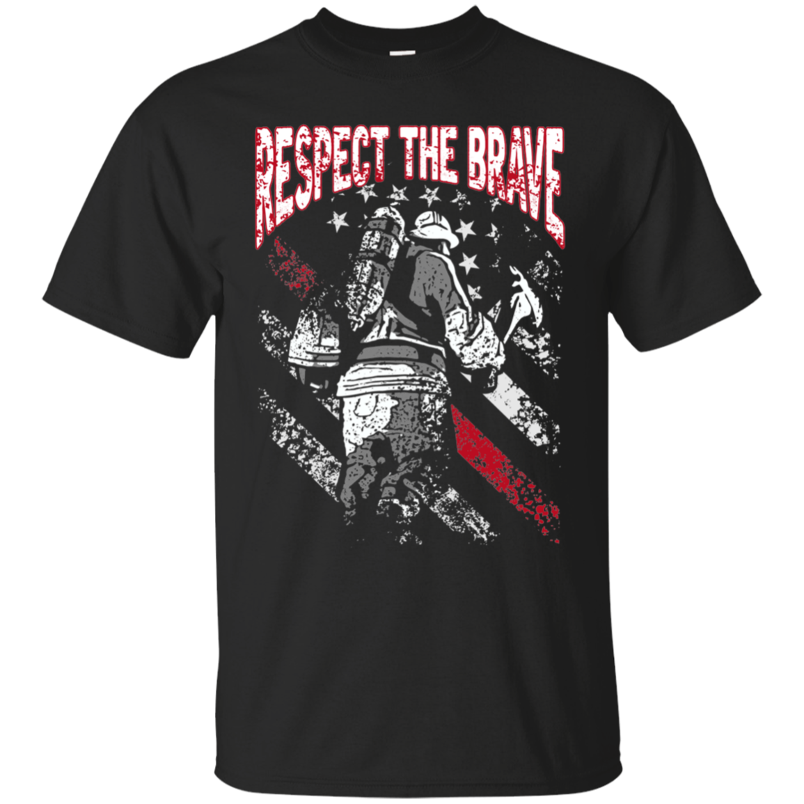 Respect The Brave Cotton T-Shirt