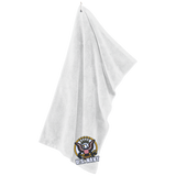 Navy Microfiber Golf Towel