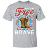 Home of The Free - Cotton T-Shirt