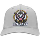 Navy Embroidered Head Wear Collection