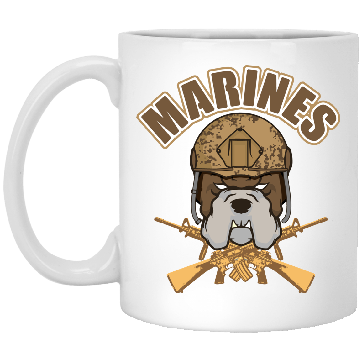 USMC Bulldog Drink Wear