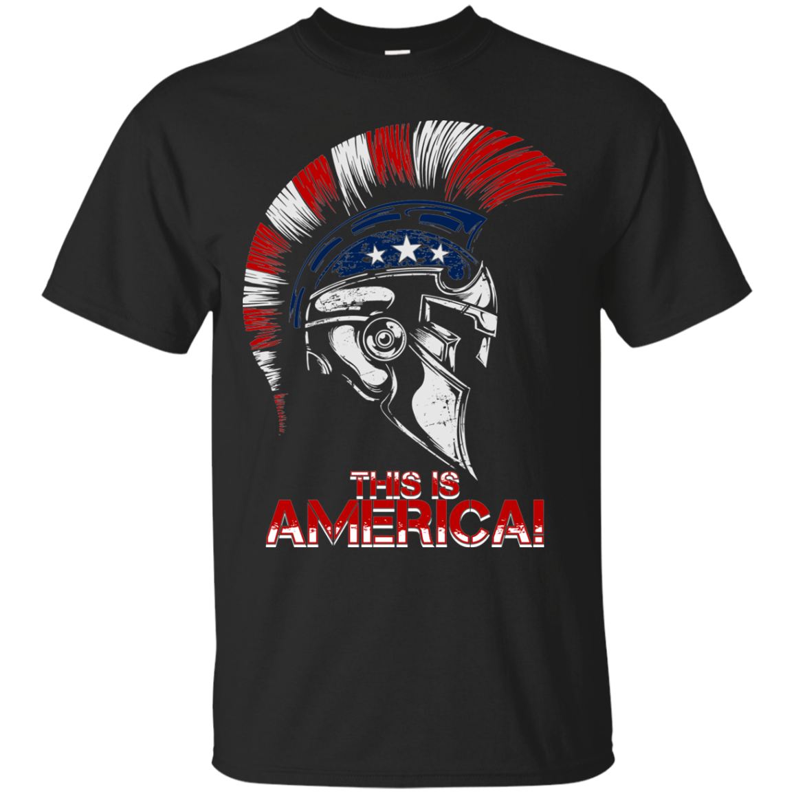 This Is America Spartan T-Shirt - Veteran Merchandise