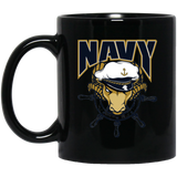 Navy Ram Strong Coffee Drink Wear