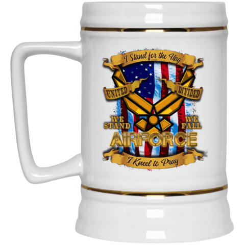 Air Force Beer Stein 22oz.