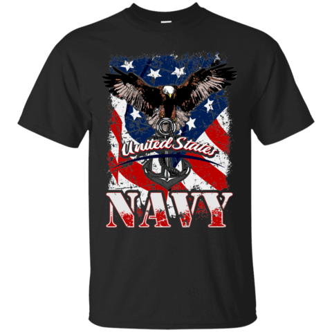 United States Navy T-Shirt - Veteran Merchandise