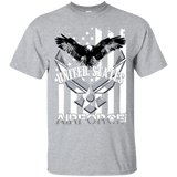 Air Force B/W Print T-Shirt - Veteran Merchandise