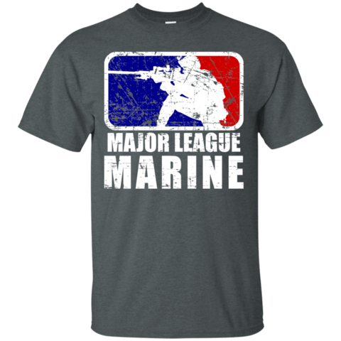 Classic Major League Marine Cotton T-Shirt - Veteran Merchandise