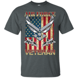 Air Force Veteran T-Shirt - Veteran Merchandise