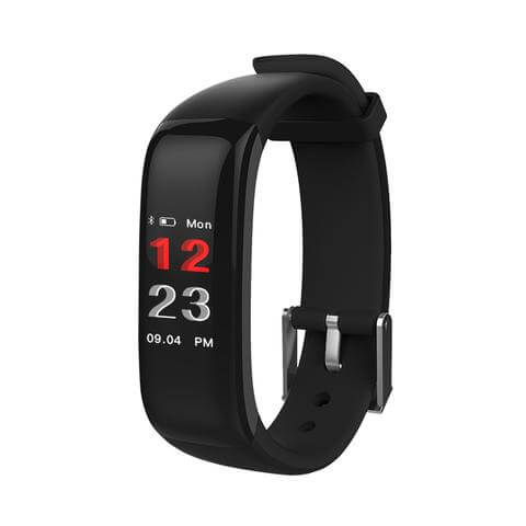 action force h1 hr color display activity tracker with blood