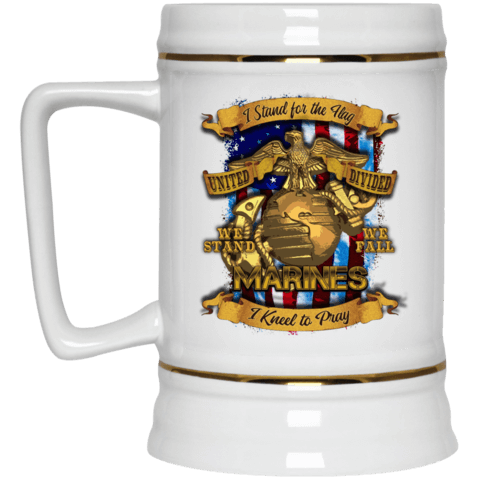 Marines Beer Stein 22oz.