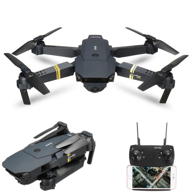 Tactical Stealth SideKick Pocket  Quadcopter Drone With Wide Angle Camera Technology - Veteran Merchandise