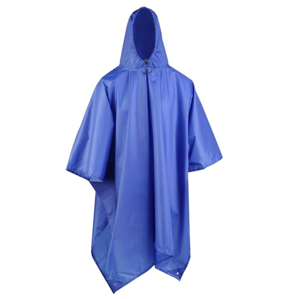 Blue Tsunami Outdoor Waterproof Poncho
