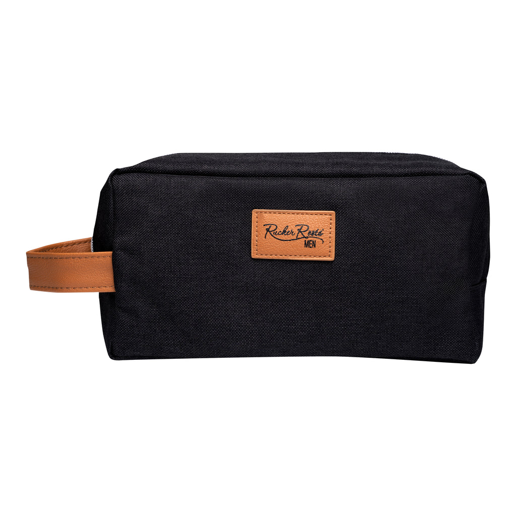 King by Rucker Roots Toiletry Logo Bag
