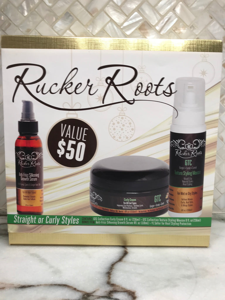 Holiday Gift Set- Straight or Curly Styles