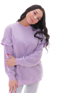 Feeling Pretty Lilac Jumper