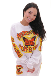Progress Not Perfection Jumper (Curve Available)
