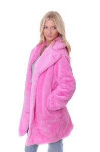 Bubblegum Fairy Faux Fur