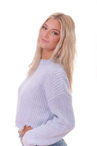 Baby Blue Sweater