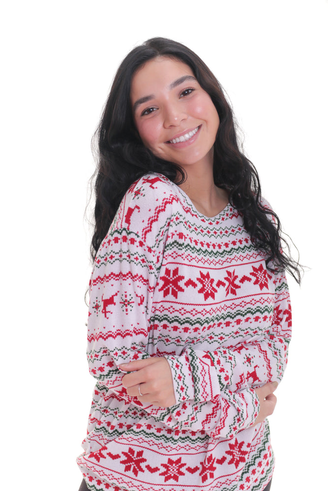 Festive Holiday Long Sleeve