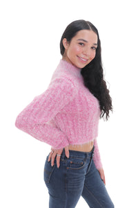 Pink Starburst Sweater