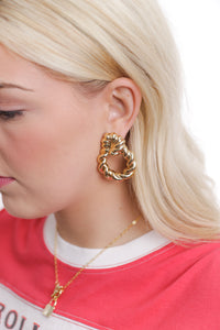 Fun Gold Earrings