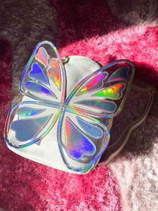 Stained Glass Butterfly Backpack