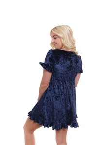RYDEL Midnight Babydoll Dress