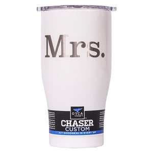 Mrs. 27oz Chaser Pearl/Clear - ORCA
