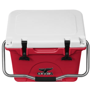 Crimson/White 20 Quart - ORCA