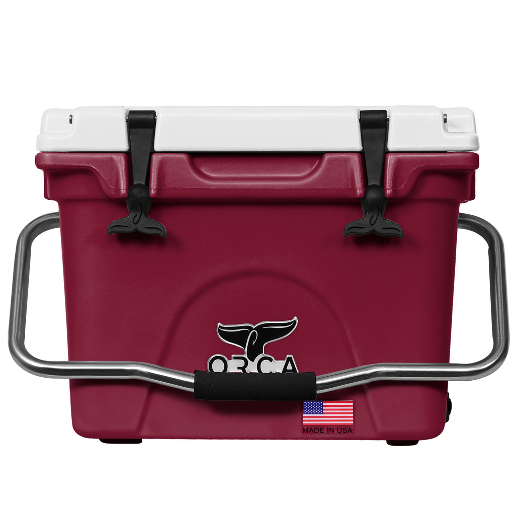 Dark Maroon/White 20 Quart - ORCA
