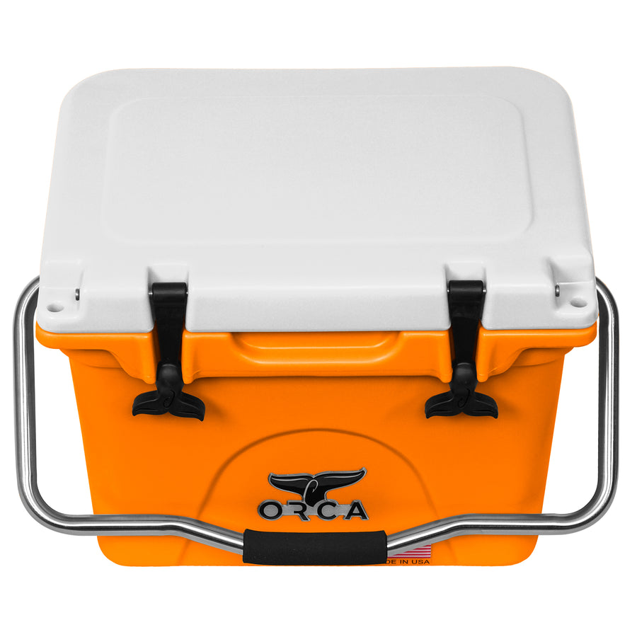 Orange/White 20 Quart